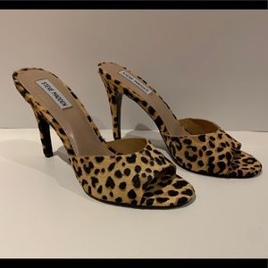Steve Madden Leopard Print Heels Size 9 NEW